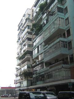 香港島のスケルトンインフィル