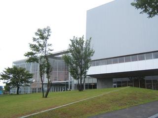名取文化会館外観