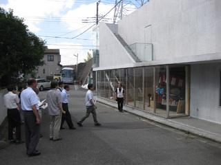 神奈川建築コンクール現地審査の様子